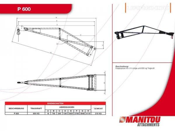 Телескопический погрузчик Manitou 1337 SLT
