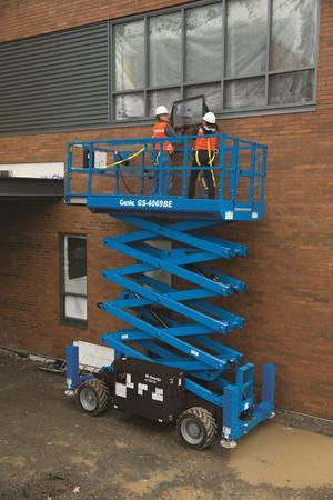 Genie BE69 series scissor lift